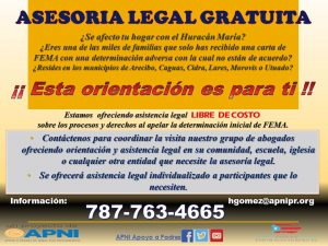 Promo Asesoria Legal Fondo Legal de Emergencia